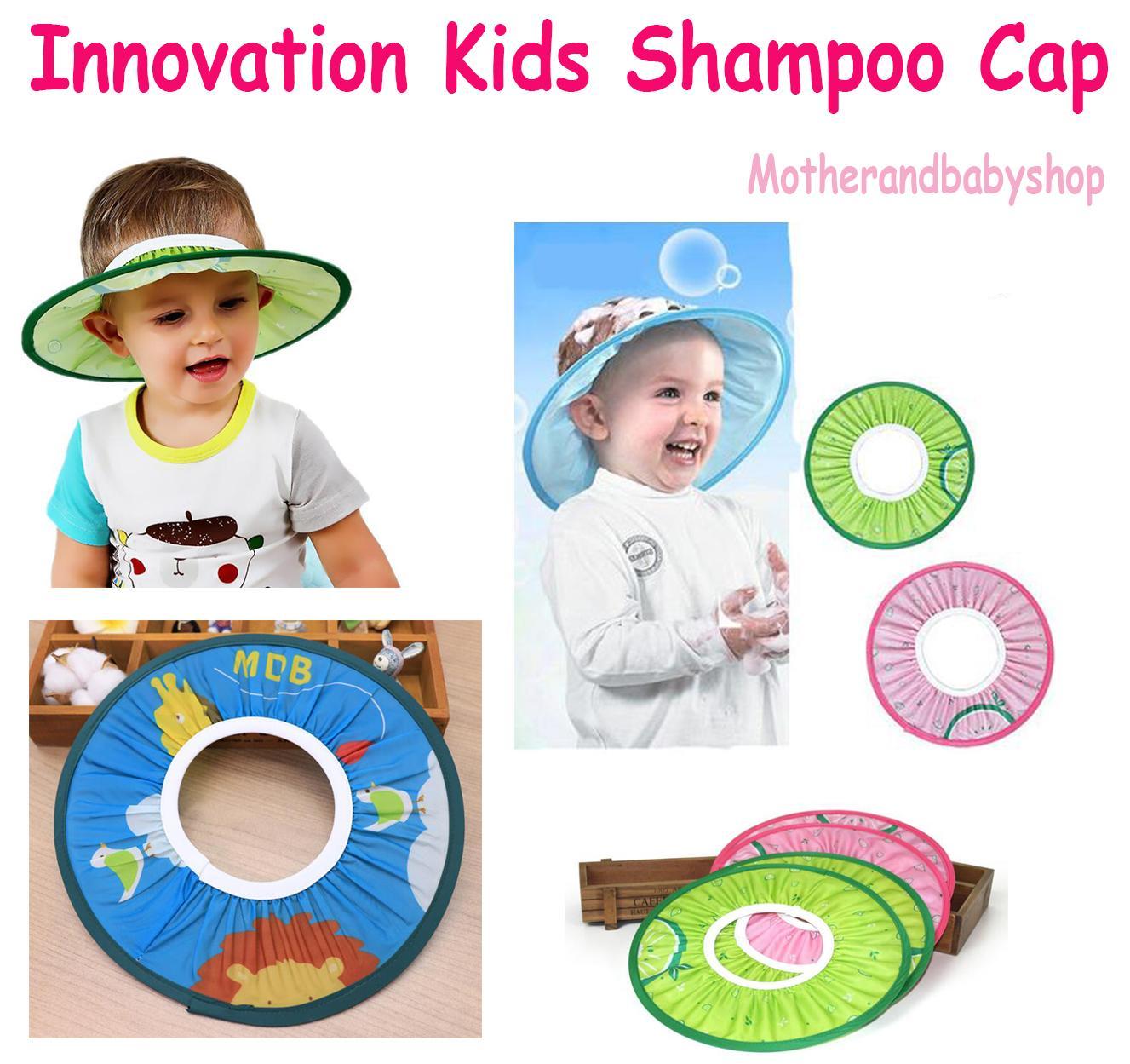 Compre Nueva Innovación Para Niños Baño Visera Sombrero Ajustable Baby  Shower Cap Proteger Champú Lavado De Pelo Escudo Para Niños Infantil  Impermeable Cap ... 93fc74c2dff