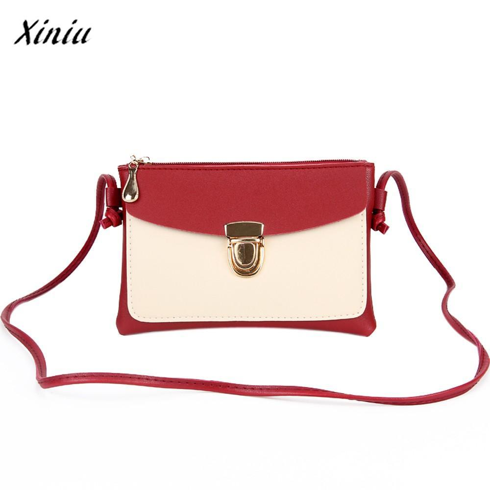 46a5b6b2a8c3 Xiniu Luxury Handbags Women Bags Designer Fashion Female Diagonal Lock Coin  Purse Mobile Phone Bag New Multi Colors Shoulder Bag Shoulder Bags Cheap ...