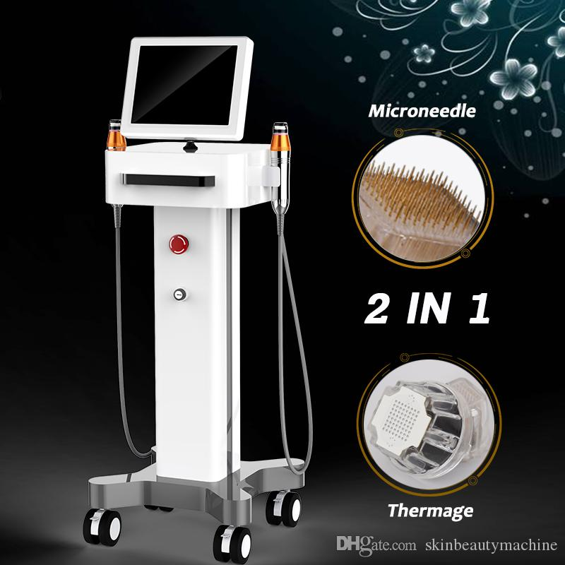 2019 High End Thermage Face Lift Machine non invasive Fractional RF Thermal  Lifting Anti Aging Wrinkles Skin Resurfacing Devices