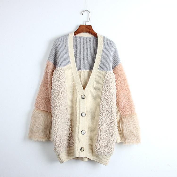 5d1721174 2019 Spring New Pattern Knitting Cardigan For Women Middle Length ...