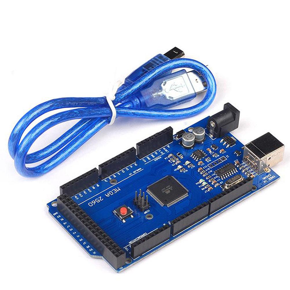 MEGA 2560 R3 Development Board CH340G ATMEGA 2560 Kit with USB Cable For Arduinos LHY Sale