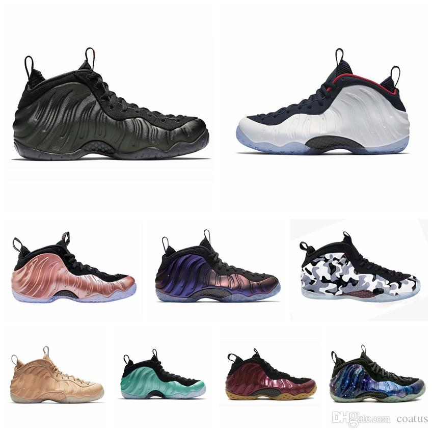 f7bf3ba82aff8 2019 Foam One Abalone Habanero Red Floral Penny Hardaway Men Basketball  Shoes Black Metallic Gold Alternate Galaxy Fleece Sports Sneakers 8 13 From  Coatus