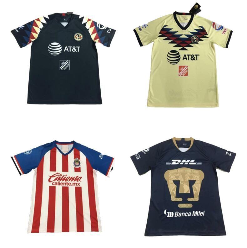 free shipping 95e8e afd1f New S-XXL Thailand 2019 2020 CHIVAS club world cup LIGA MX Club America  CHIVAS Guadalajara UNAM TIGRES soccer Jersey 2020 football