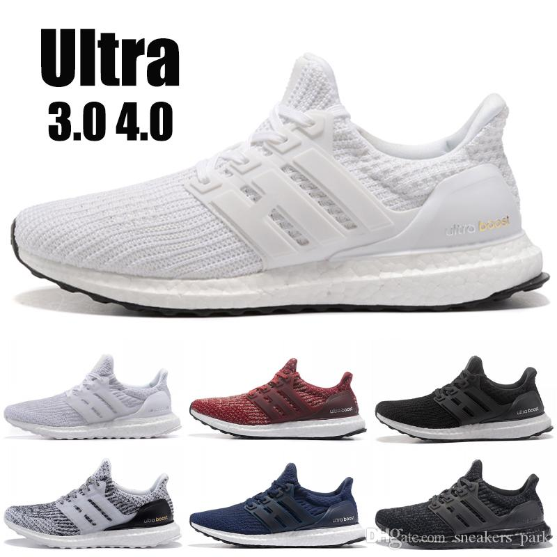 c83e3db8a28 2019 Ultra Boost 3.0 4.0 Men Running Shoes Best Quality Ultraboost Oreo  Grey Designer Shoes Women Sport Sneakers US 5.5 11 Latest Shoes Top Running  Shoes ...