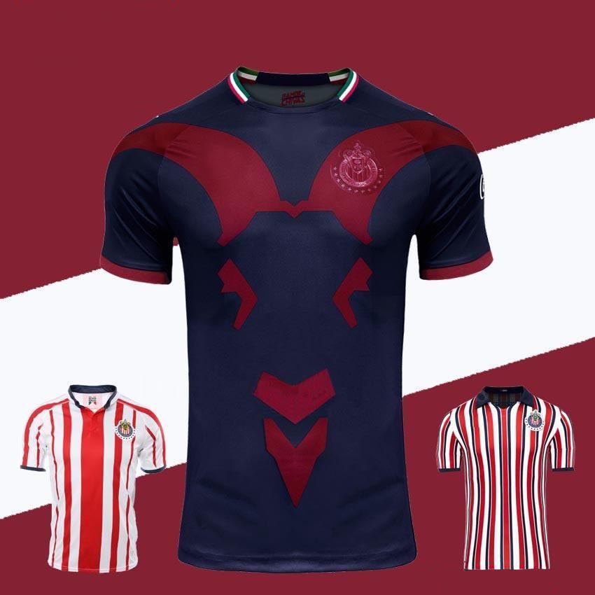 the best attitude 03797 7b48f Chivas de Guadalajara Third Jersey 2018 2019 Japan World Cup Soccer Jerseys  New Arrived Long Sleeve Kit MEXICO Club A.PULIDO Football Shirts