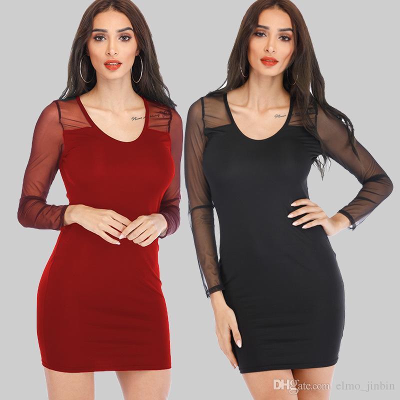 b80f72e0bbb73 2019 Summer Dress Elegant Ladies Lace Dress Women Party Dresses female  vestidos Mini Bodycon Pencil Gowns robe femme Clubwear BD4853