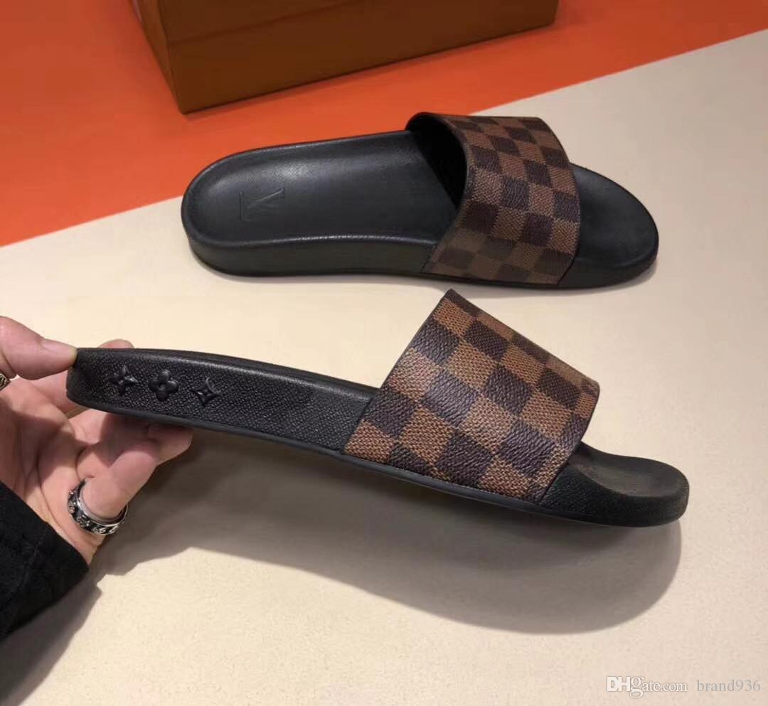 2f6cc0c8424f 19ss LL Brand 4 Styles Fashion Causal Slippers Men Women Boys  Girls  Tian Blooms Start Print Slide Sandals Unisex Outdoor Beach Flip Flops White  Shoes ...