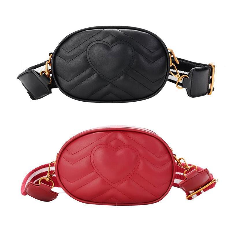 43d891029535 Women Heart Fashion Waist Chest Bags Pack Belt Waist Chest Crossbody Shoulder  Messenger Hand Bag For Outdoor Sports Pocket Bags Womens Purses Leather Bags  ...
