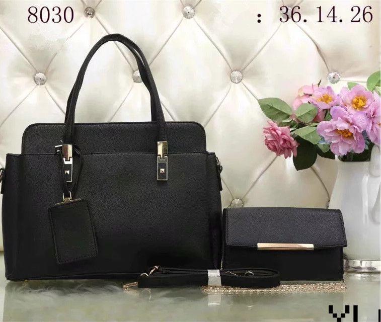 119952a5d8 2019 Brand Designer Luxury Handbags Purses Women Fashion Bags Set Leather  Shoulder Bags Designer Purses Satchel Bags From Tiantianlaidan168