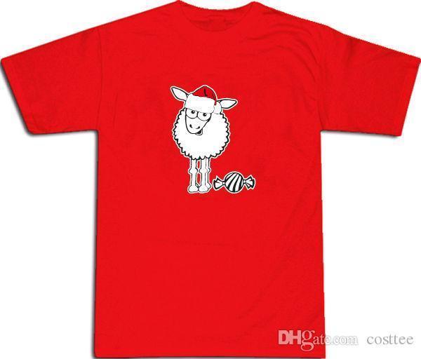e286bc9197 Sheep Baa Humbug Cool Funny Men'S Christmas T SHIRT ALL SIZES # Red Shirts  And T Shirts Buy Cool T Shirts From Yubin09, $25.99| DHgate.Com