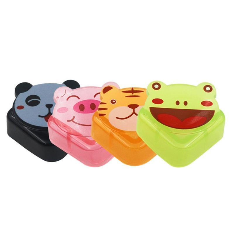 4pcs/set Cartoon Table Corner Edge Protection Cover Child Baby Safety Desk Protector Cute Animal Pattern Edge Corner Guards