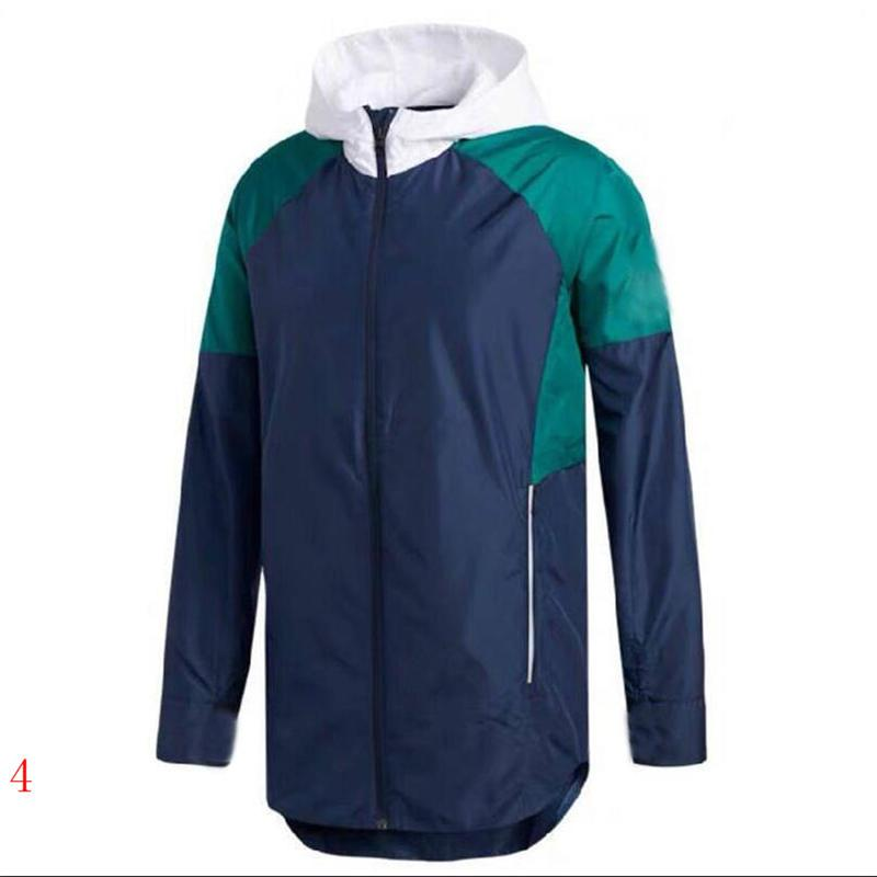 Wholesal Men Windbreaker Jacket Hoodies Long Sleeve Wind Coat Street Homme Dust Coats Jackets with Good Quality Black Blue White Colors #y.