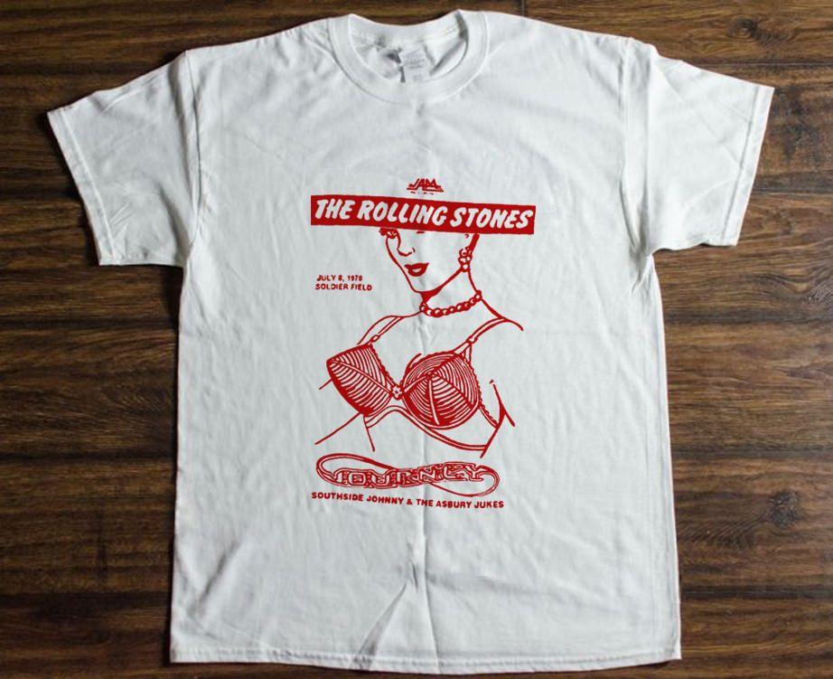 Vintage Rolling Stones shirt Some Girls Tour 1978 T-Shirt Reprint Size S -  3XL