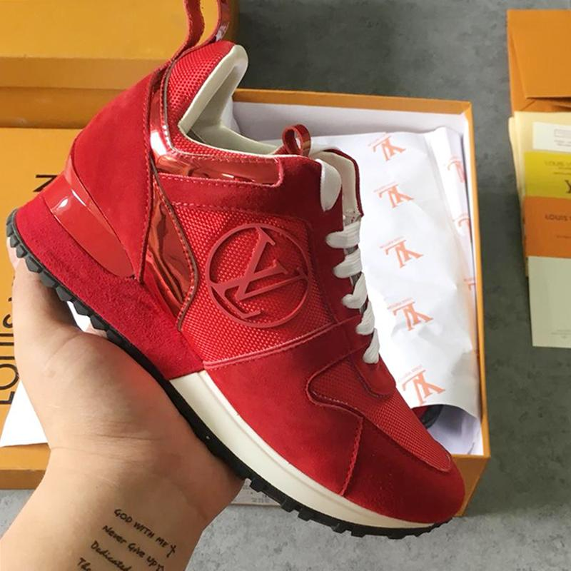 Womens Sneakers Sports Shoes Fashion Trainers Athletic Summer Zapatos de mujer Lady Shoes Run Away Sneaker M#08 Hot Sale Womens Fashion
