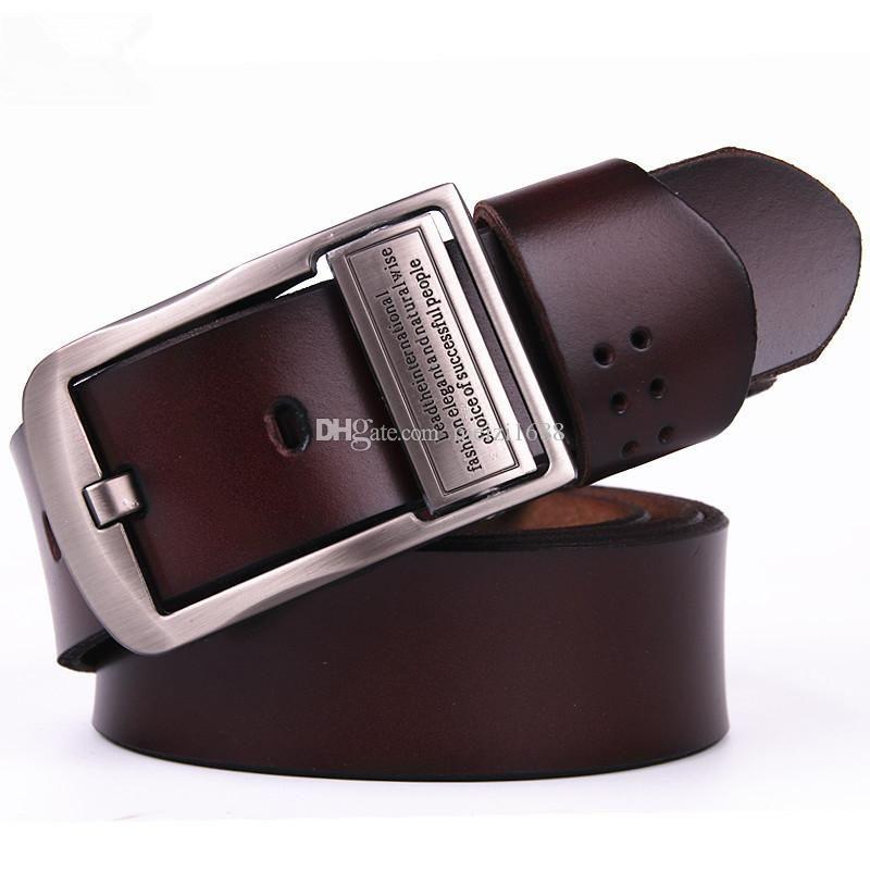 257d2b3bb Fashion Men Belt Designer Luxury Quality Business Needle Buckle Mens ...