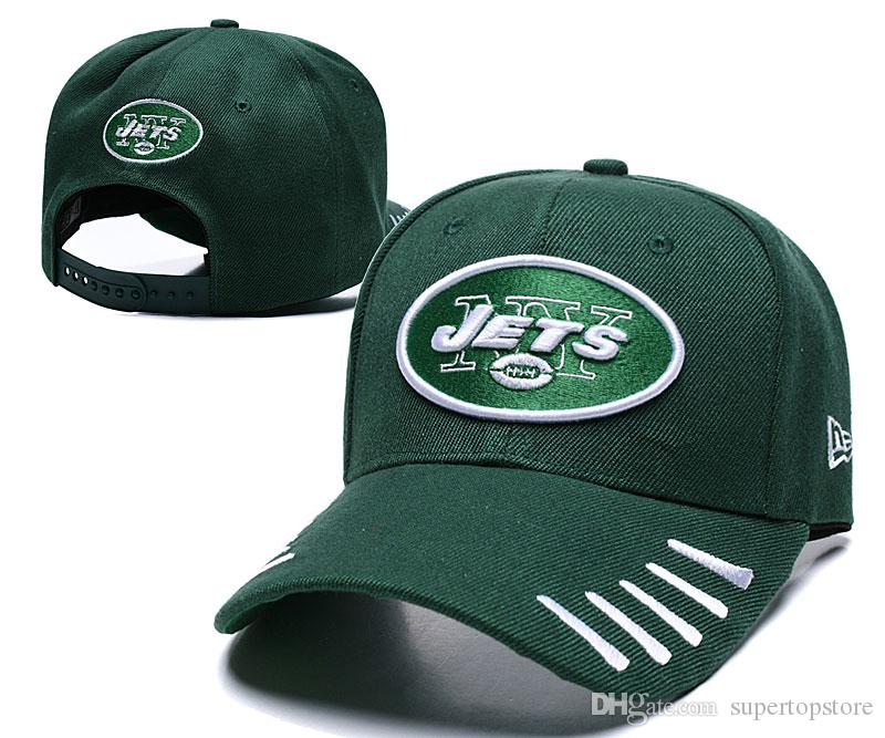 Top selling Baseball Cap US Fashion 2019 NY Jets Green Color Sports Golf Visor Snapback Hip hop Adjustable Cap visor Hat casquette de marque