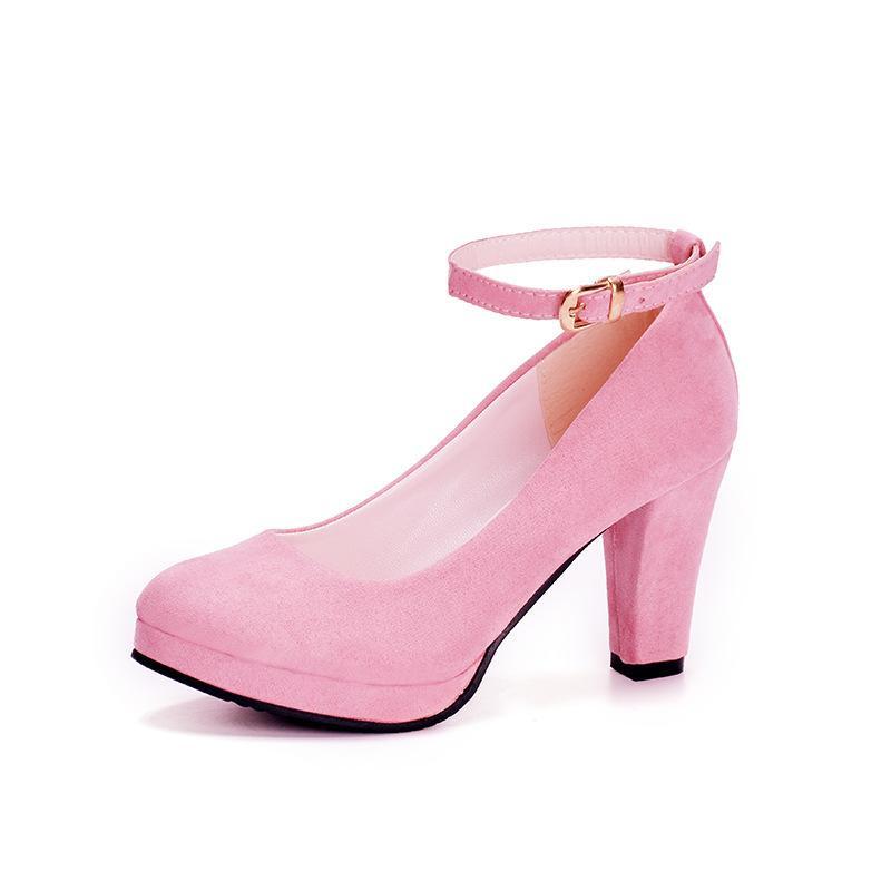 7a0a56502 Vestido 2019 Moda Mujeres Bombas Sexy Tacones altos para mujer Zapatos de  boda Formal Correa del tobillo Zapatos de mujer Plataforma de tacón alto ...