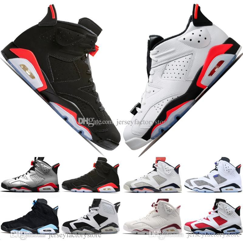 8268ac5abce93c New 2019 Bred VI 6 6s Mens Basketball Shoes Infrared 23 3M ...