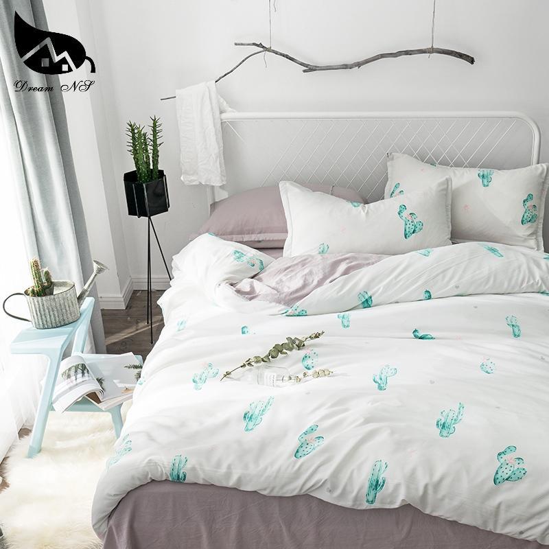 ebd9bacd68 Compre Dream Ns King Size Cactus Jogo De Cama Para Nórdico Capa Simples  Fronha Quente E Macio Quarto Casa Conjunto Capa De Sala De Estar Roupas De  Cama De ...