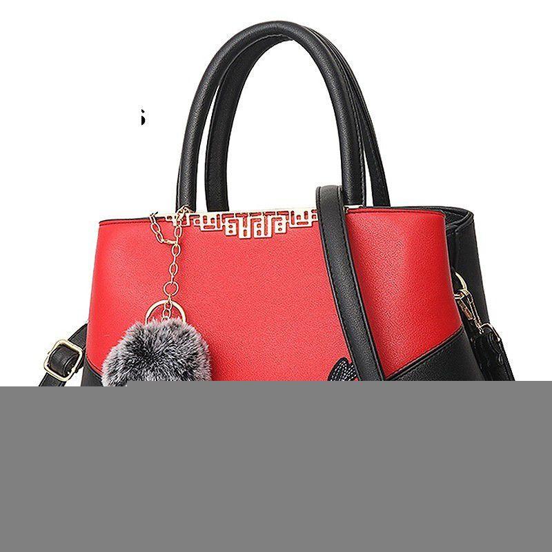 Good Quality Luxury Handbags Women Bags Designer Women Famous Brands  Crossbody Messenger Bag 2019 Hot Hair Ball Bolsa Feminina Tfz Designer Bags  Ladies ... 3bd90ae49b