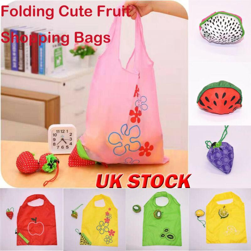 Foldable Fruit Handy Shopping Bag Reusable Tote Pouch Recycle Storage Handbags Fruit