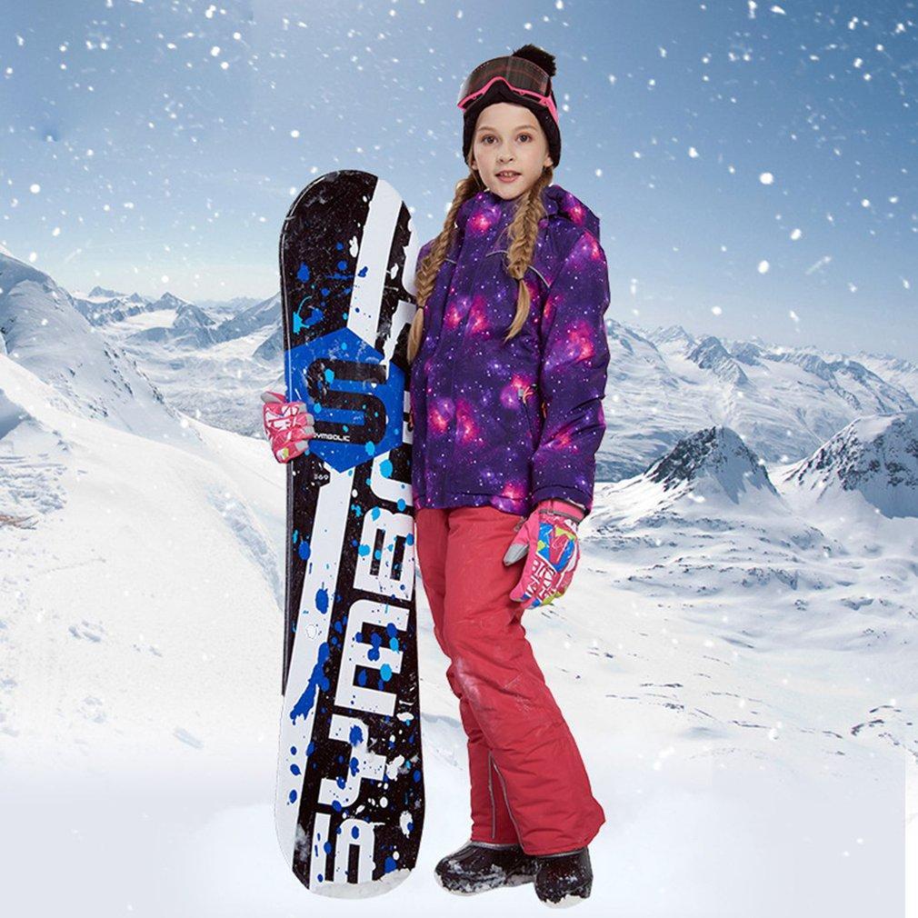 1fb14fef7 2019 Phibee Boys Girls Ski Suit Waterproof Pants+Jacket Set Winter ...