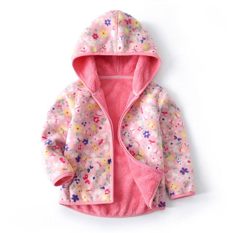 9cf2586ff400 Autumn Winter Baby Girls Jacket Boys Coat Jacket Kids Warm Velvet ...