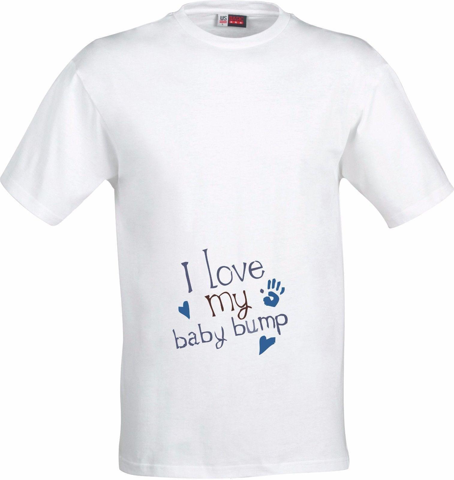 e90b82161 I LOVE MY BABY BUMP PREGNANCY MATERNITY GIFT FULL COLOR SUBLIMATION T SHIRT  Custom Printed Tshirt, Hip Hop Funny Tee, Mens Tee Shirts Design Shirt  Formal ...