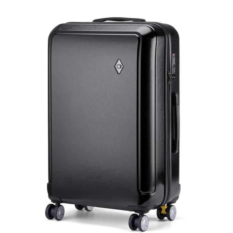 da3f704de067 New Men high quality Trolley luggage travel bag students spinner brand  school Trolley suitcases Women travel Rolling luggage bag
