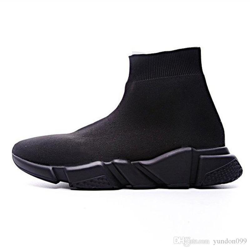Chaussette Chaussures Chaussure Sneakers Noir Balenciaga