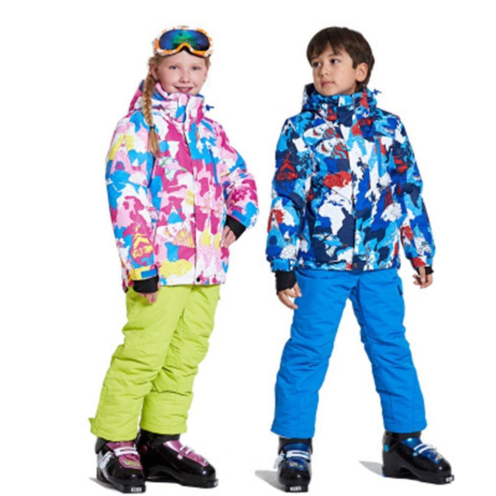 cf9d8e5ca78c 2019 Kids Ski Suit Children Windproof Waterproof Warm Girls And Boy ...