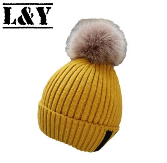 2ff97e0d417 L Y Newest Winter Baby Kids Girl Boy Newborn Crochet Knitted Hats ...