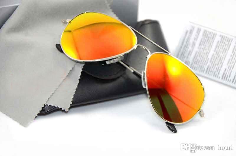 7db306debf2d High Quality Brand Designer Sunglasses 3025 Mirror Sunglasses Pilot ...
