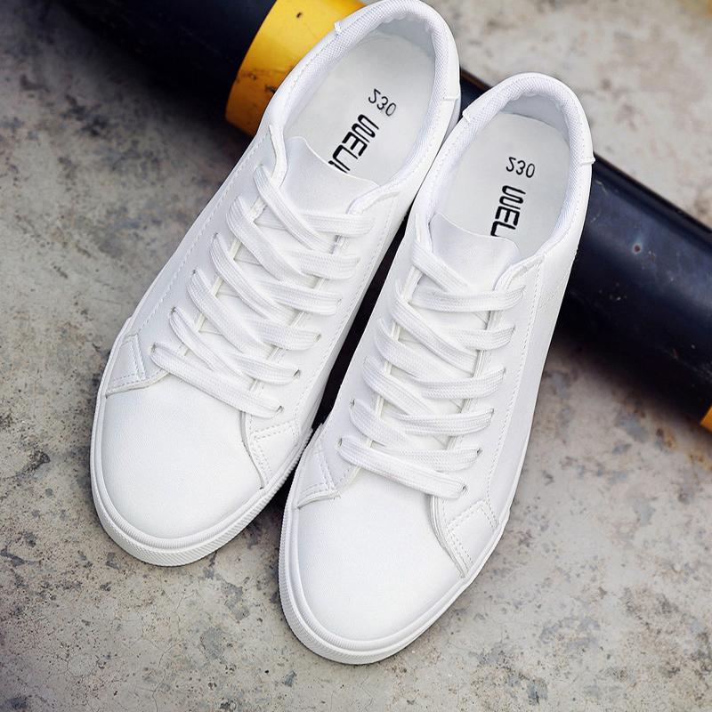 Niza PU Y Del Primavera Para Coreana Compre Casual Versión De De 39 Ayudar Negros Zapatos A Wild Verano Bajos Nuevo Zapatos Mujeres Blancos 43 Otoño Planos dWFUFq67Z4