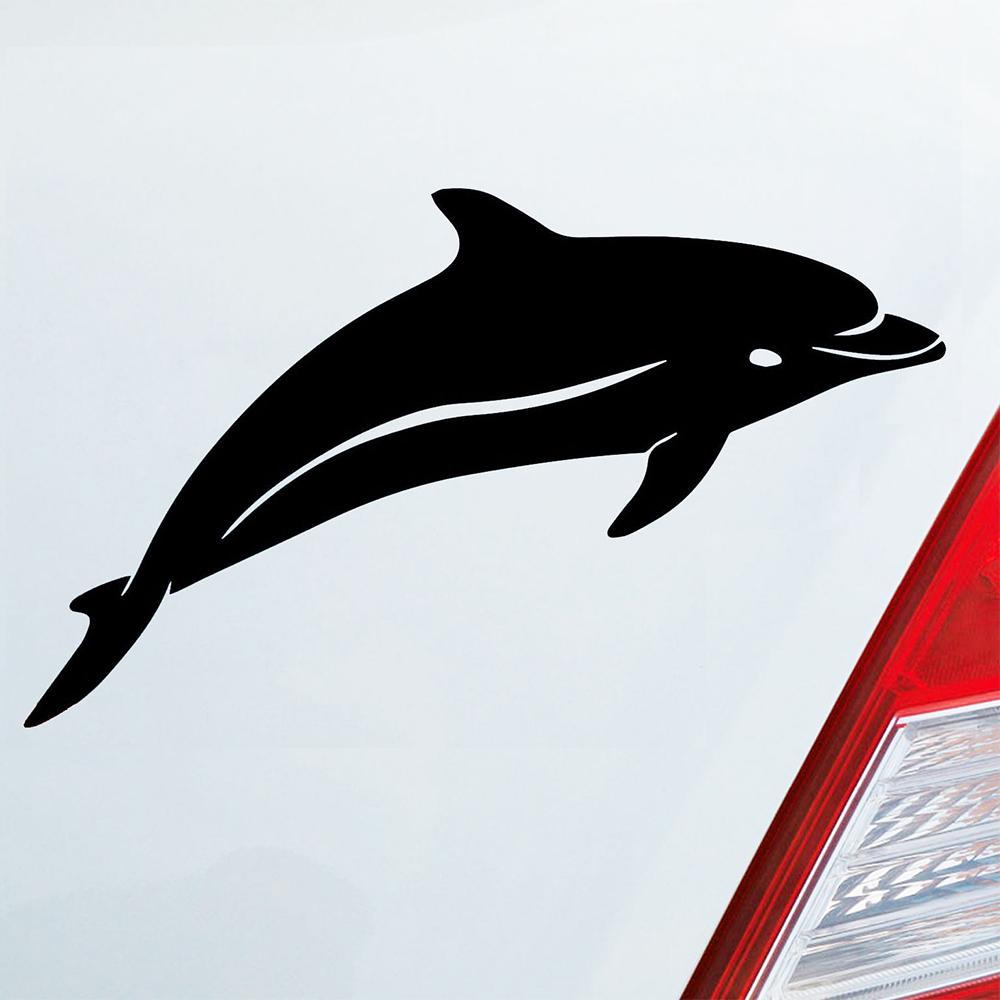 2019 18 10 5cm Auto Aufkleber Delphin Delfin Fisch Tier Funny Car