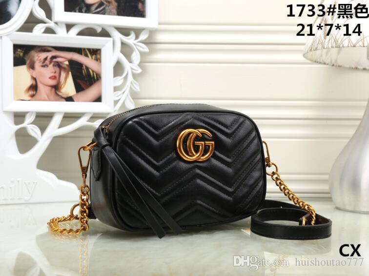 87ce71bf09e4 GUCCI Classic Flap bag women's Plaid Chain bag Ladies High Quality Handbag  Fashion Brands purse Shoulder Messenger bags