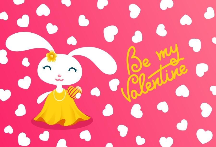 f566a8d44b Compre Laeacco Fondos De Fotos Rojo Día De San Valentín Conejo Amor Corazón  Bebé Bebé Dibujos Animados Niño Bebé Cartel Foto Telón De Fondo Para  Estudio A ...