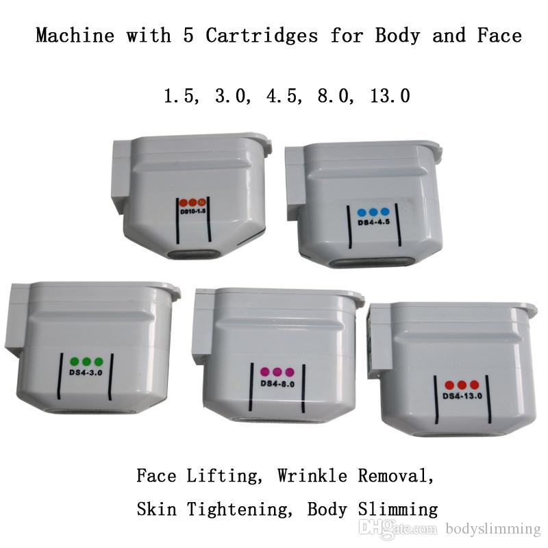 Anti Auging Machine Hifu Beauty Body Body для похудения лица, поднятие морщины Портативный ультразвуковой станок для лица