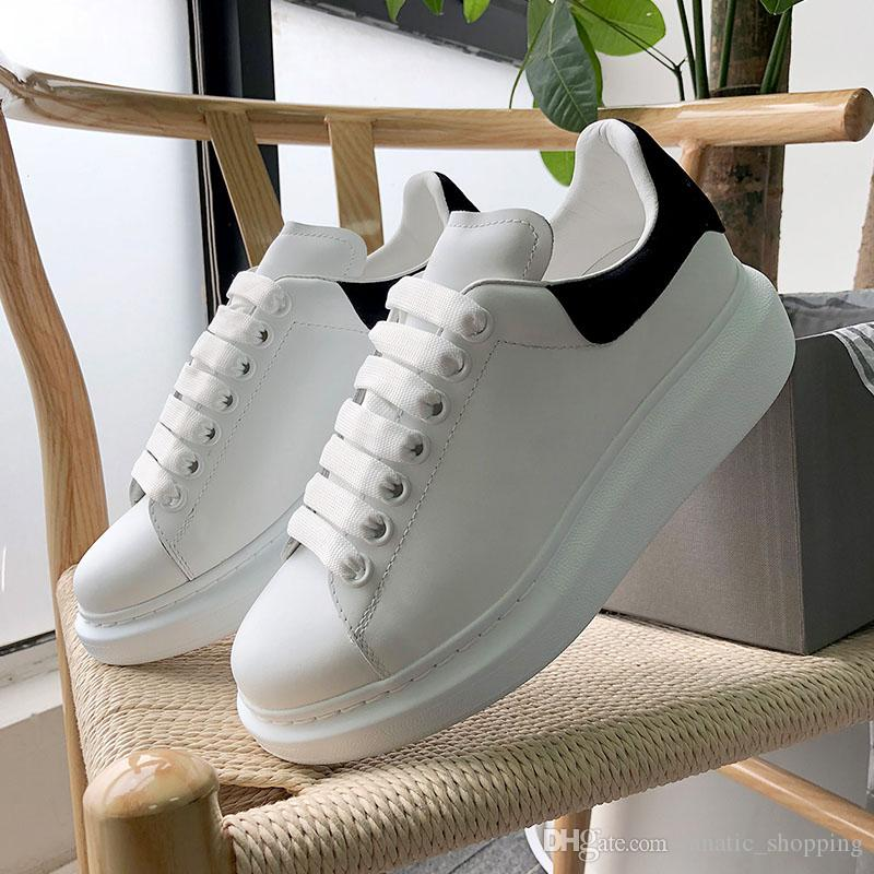 dcd86cae Compre Nuevo Diseñador 3M Reflectantes Planos Ocasionales Triples Blancos  Negros Hombres Mujeres Plataforma Zapatos De Fiesta Zapatillas Deportivas  36 44 ...