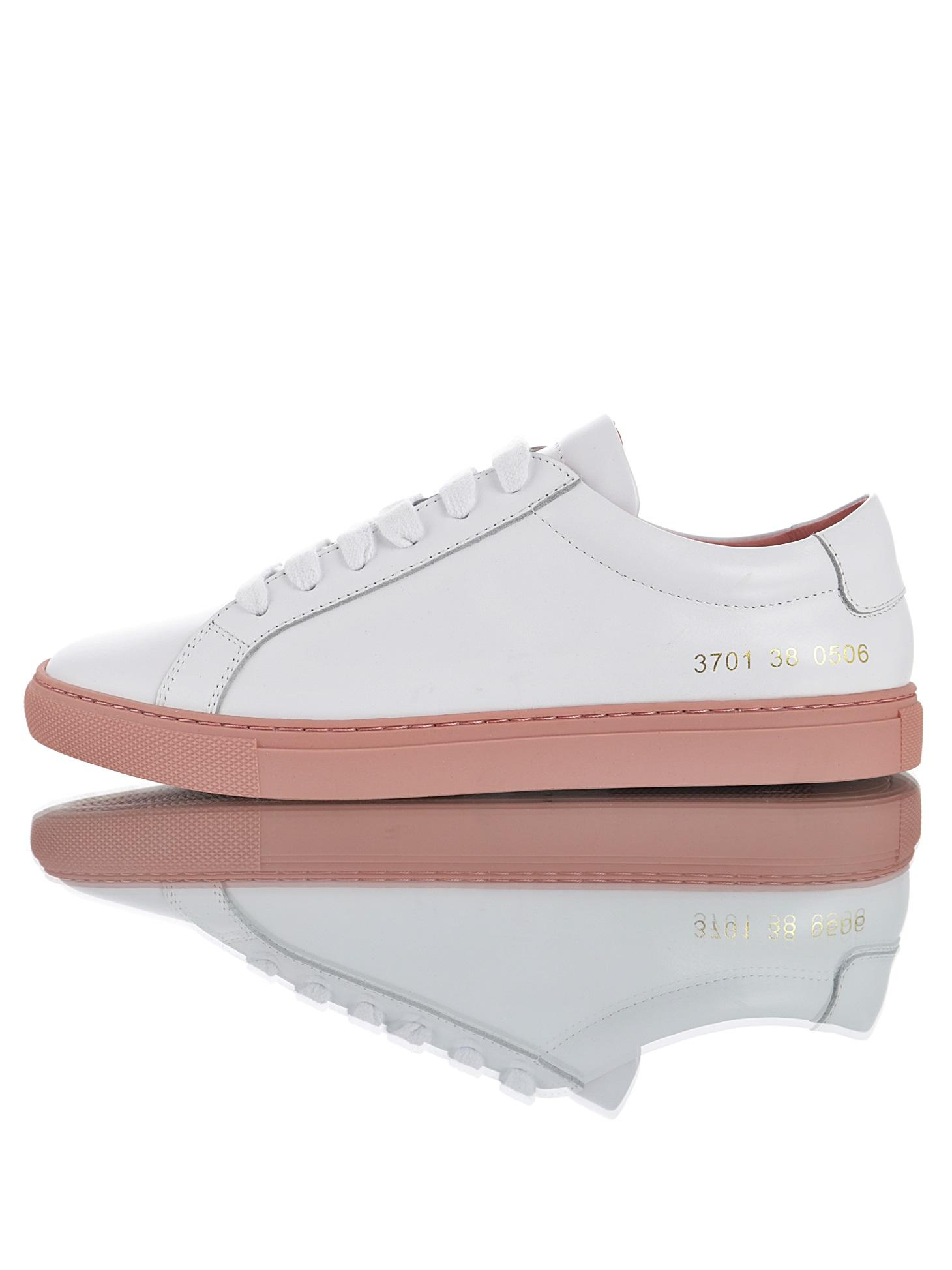 b4270e22cf WOMAN By Common Projects Achilles Low Triple White Black Brown Owl Print  Casual Shoes Men Women Genuine Leather Chaussure With Box 35 44 Formal  Shoes For ...