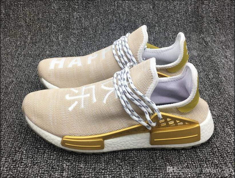 Human Race Pharrell Williams X NMD HU China Pack Happy Holi NMD MC Mens  Womens Casual Soorts Shoes Red White Hip Hop Sneakers 36 45 Canada 2019  From ... 7c4d7b549