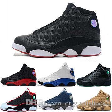 premium selection 56297 c7882 2019 Hyper Royal 13 13s Mens Basketball Shoes Phantom Chicago hologram  flints Grey Red Mens Designer Sports Sneakers Size 7-13