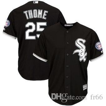 buy online c7e66 f9e6c 2019 Custom Chicago White Sox Sports Champion mlb Cheap Baseball Jerseys  Fashion Men Youth Frank Thomas Carlton Fisk Jersey Sizes kids 4xl