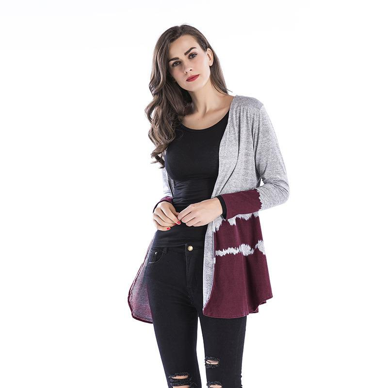 71ccbaac56 Spring Fashion Woman Sweater Casual Medium Long Sweaters Quality Cardigan  Autumn Elegant Knitwear Women Knitted Sweater Vs275 UK 2019 From Hannahao