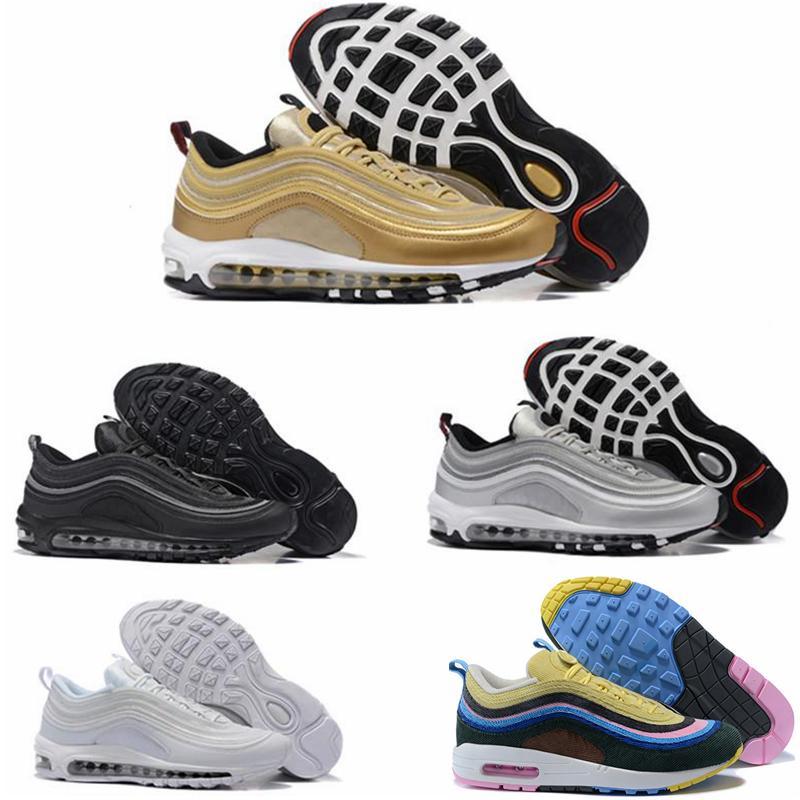 2019 nike air Vapormax max Off white Flyknit Utility vapormax balck vert Silver Bullet Metallic Gold japan gris Hommes Chaussures de sport Sneaker