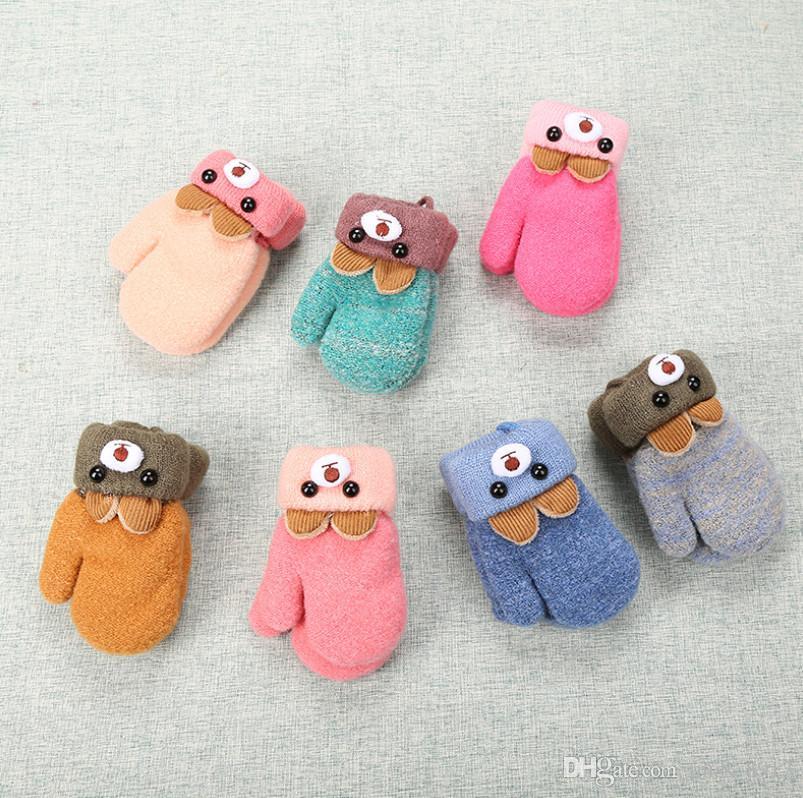 Acquista new baby guanti anni simpatico orso cartone animato