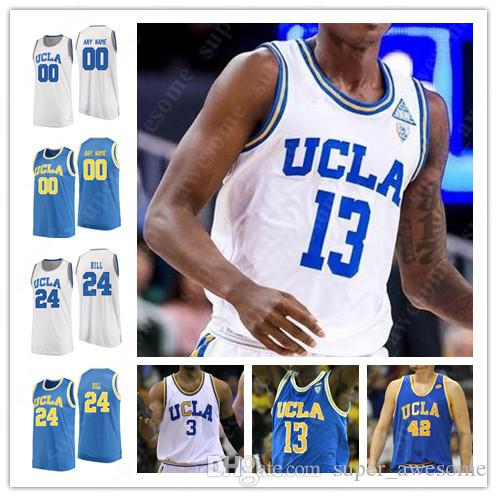 factory authentic 93685 4413a UCLA Bruins Basketball Jerseys Kris Wilkes Jaylen Hands Moses Brown Prince  Ali Jules Bernard Chris Smith Cody Riley Jalen Hill Jersey Blue