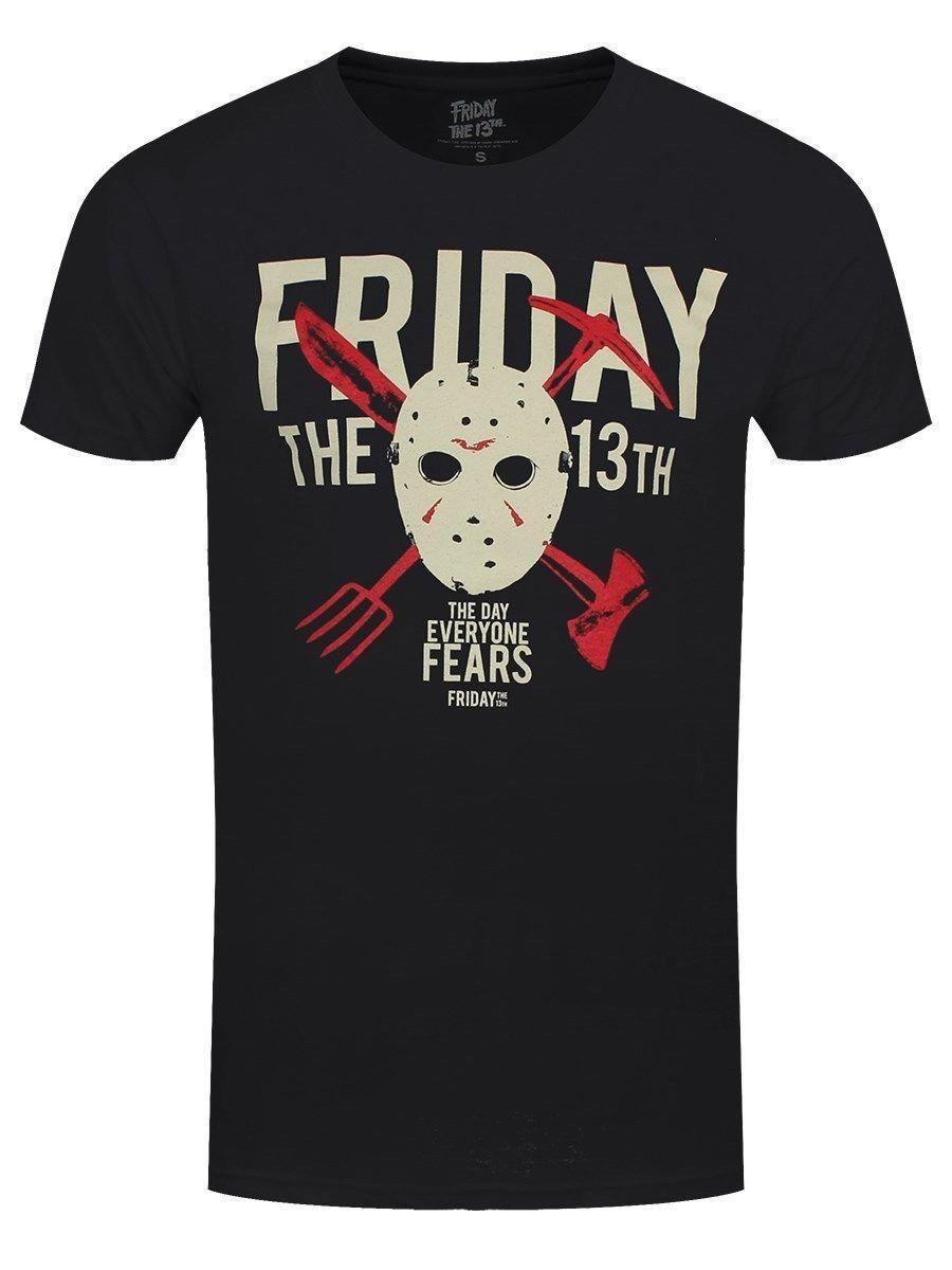 Friday The 13th Day Of Fear Men S Black T Shirt Online Funky T Shirts Buy T  Shirt Design From Yuxin0005,  12.18  DHgate.Com e6c02b7e27