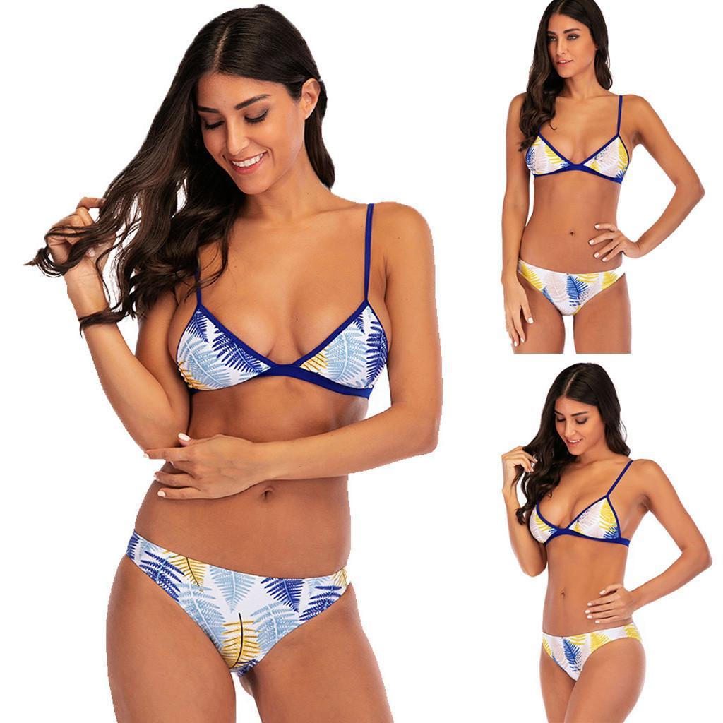 dc68dc5f4608f 2019 Sexy Swimwear Women Zwempak Vrouwen Hoge Taille Sexy Boho Sling ...