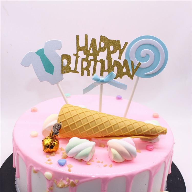 New Happy Birrthday Lollipop Skirt For Men And Women Birthday Cake Interpolation Creative Christmas Ornaments Images Of Decorations Indoor